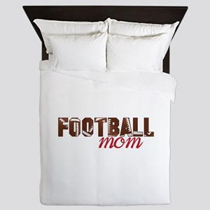 Foot Ball Mom Queen Duvet
