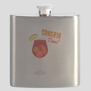 SANGRIA Time! Flask