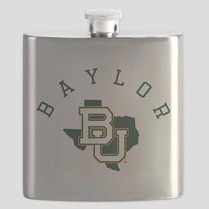 Baylor University Texas Flask