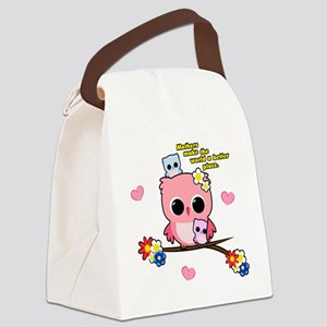 Owl Mothers Canvas Lunch Bag