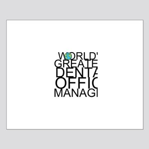 World's Greatest Dental Office Manager Posters