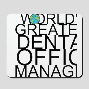 World's Greatest Dental Office Manager Mousepa