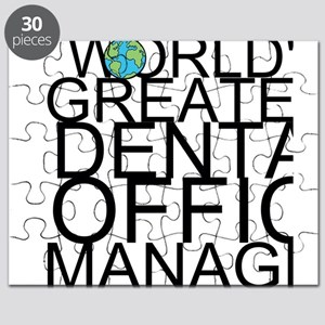 World's Greatest Dental Office Manager Puzzle