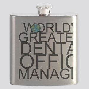 World's Greatest Dental Office Manager Flask