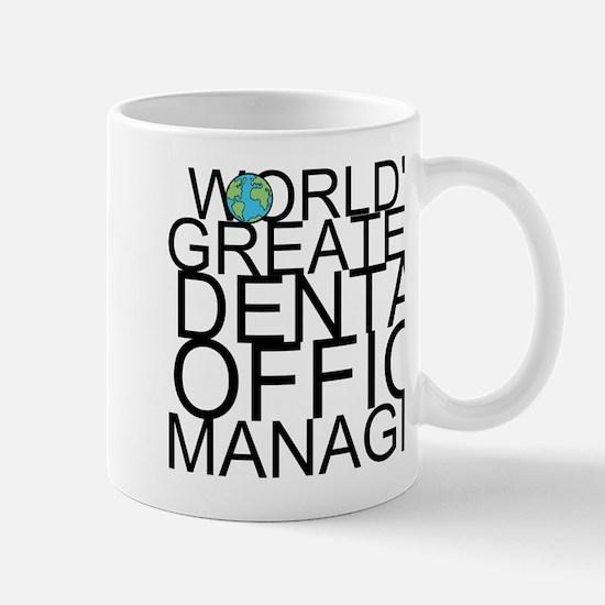 World's Greatest Dental Office Manager Mugs