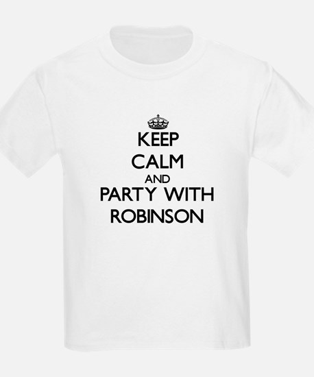 Keep calm and Party with Robinson T-Shirt