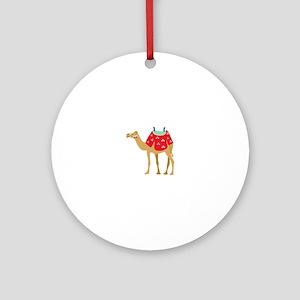 Desert Camel Ornament (Round)