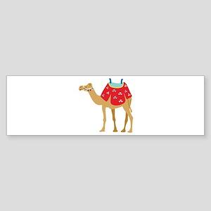 Desert Camel Bumper Sticker