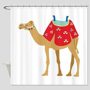 Desert Camel Shower Curtain