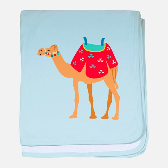 Desert Camel baby blanket