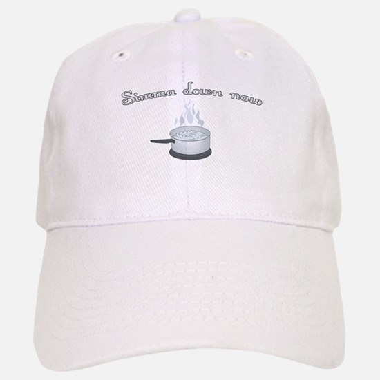Simmer Down Now! (Pot) Baseball Baseball Cap