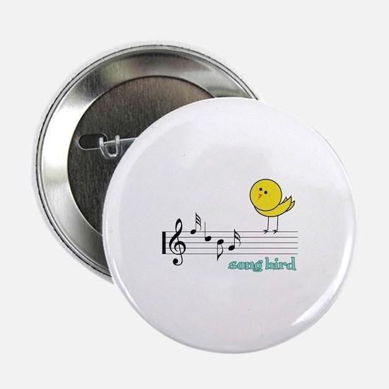 """Song Bird 2.25"""" Button"""