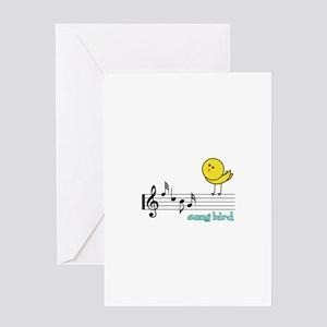 Song Bird Greeting Cards