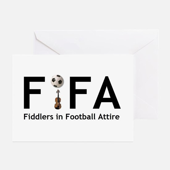 FiFA--Fiddlers in Football At Greeting Cards (Pack