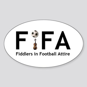 FiFA--Fiddlers in Football At Oval Sticker