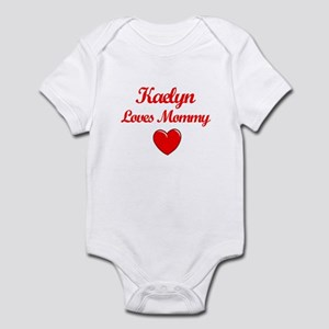 Kaelyn Loves Mommy Infant Bodysuit