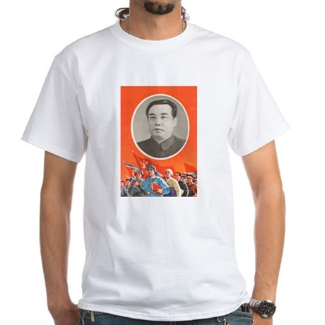 Kim Il Sung White T-Shirt