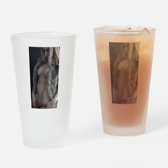 Unique Sexy blonde Drinking Glass