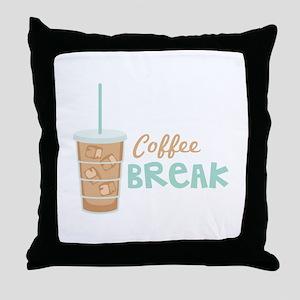 Coffee Break Throw Pillow