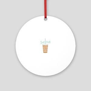 Just Chill Ornament (Round)