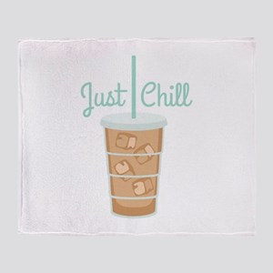 Just Chill Throw Blanket