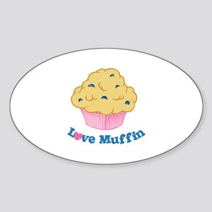 Love Muffin Sticker