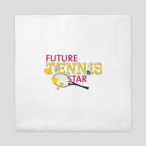 Future Tennis Star Queen Duvet