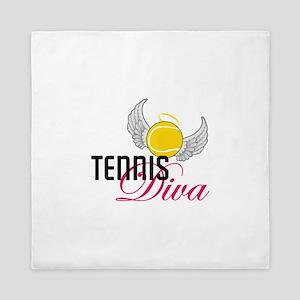 Tennis Diva Queen Duvet