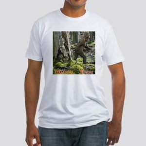 Morel Yeti Big foot gifts Fitted T-Shirt