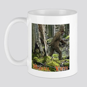 Morel Yeti Big foot gifts Mug