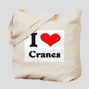 I love cranes Tote Bag