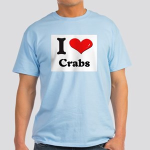 I love crabs Light T-Shirt