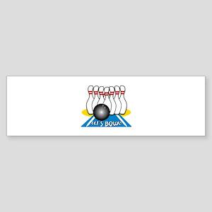 Let's Bowl Bumper Sticker