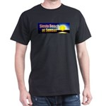 Siesta Beach At Sunset Dark T-Shirt