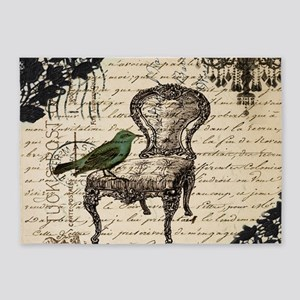 vintage paris chandelier lace bird scripts fashion
