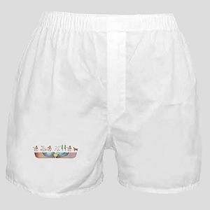 Setter Hieroglyphs Boxer Shorts