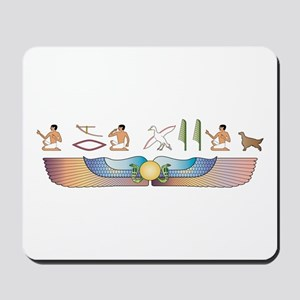 Setter Hieroglyphs Mousepad