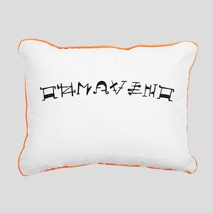 Tohrment OL Rectangular Canvas Pillow