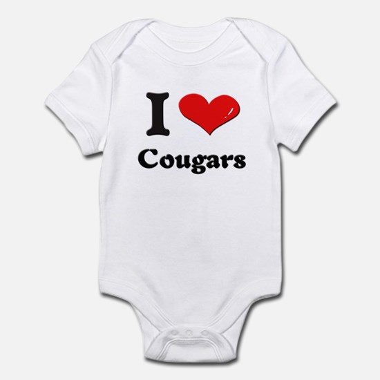 I love cougars  Infant Bodysuit