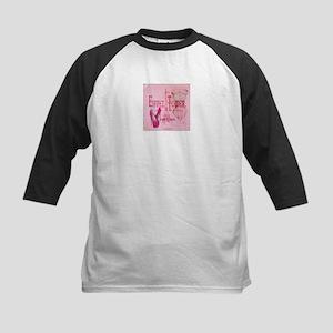 paris eiffel tower pink corset Baseball Jersey