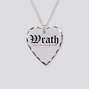 Wrath Necklace Heart Charm