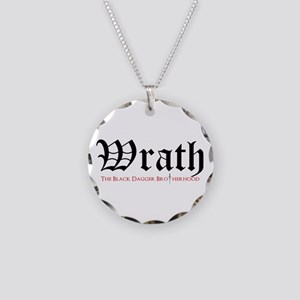 Wrath Necklace Circle Charm
