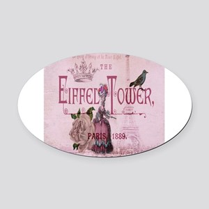 pink vintage chandelier paris eiffel tower Oval Ca