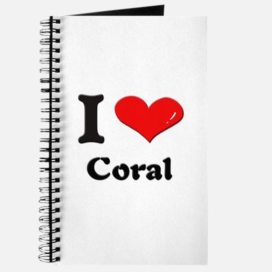 I love coral Journal