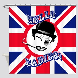 Cad's Hello Ladies! Shower Curtain