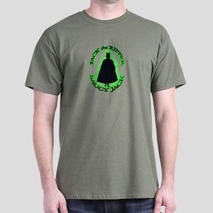 Saucy Jack Black N Green Dark T-Shirt