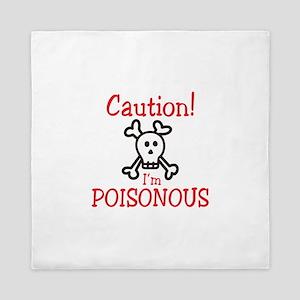 Caution! Queen Duvet