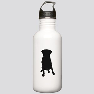 Dog Bone and Paw Stainless Water Bottle 1.0L