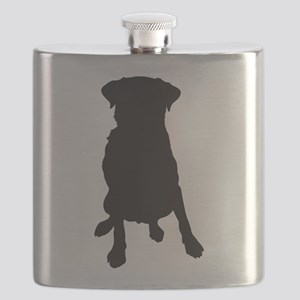 Dog Bone and Paw Flask
