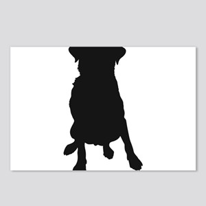 Dog Bone and Paw Postcards (Package of 8)